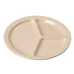 3 Compartment Plate