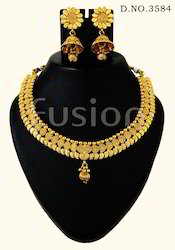 Traditional South Indian Necklace Set