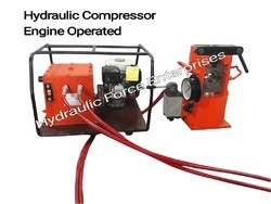Engine Operated Hydraulic Compressor Machine
