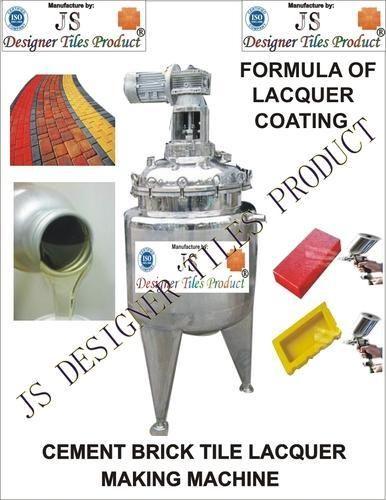 Cement Brick Tile Polish Making Machine