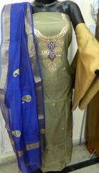 Aaditri Chanderi Fabric Gota Patti Suit