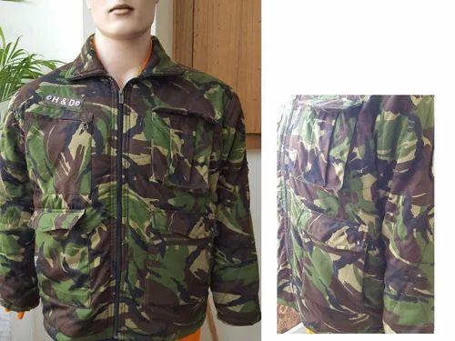 Jungle Print Army Jacket