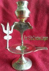 Brass Stand for Shivalinga Murthy