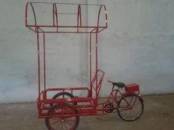 Ice Cream Tricycle Rickshaw Cart