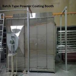 Batch Type Powder Coating Booth
