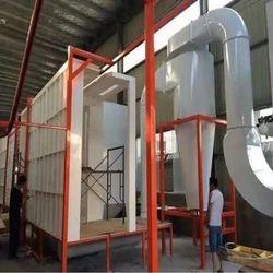 Manual Conveyorised Powder Coating Plant