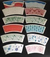 Custom Printed Die Cut Paper Cup Blanks