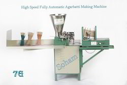 Fully Automatic High Speed Incense Making Machine