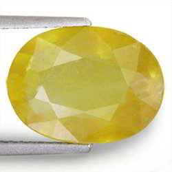 5.91 Carats Yellow Sapphire