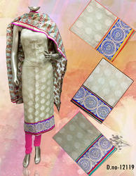 Ladies Churidar Suit Unstitched Material