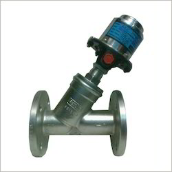 Pneumatic Angle Control Valve ('Y' Type) F/E, Model: FRS- Lo