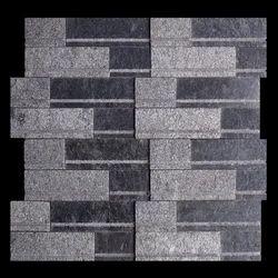 Black Mosaic Tile