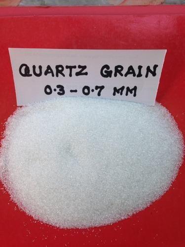 Quartz Sand 0.3 To 0.7 Mm