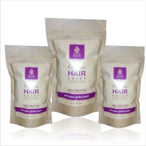 Burgundy Shade Organic Hair Color