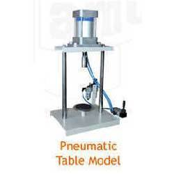 Crown Corking Machine - Pneumatic Table Model