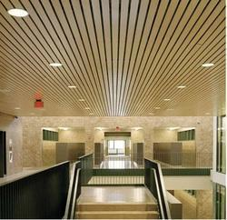 Alu 84 C & 84 R Linear Metal False Ceiling with Fixing