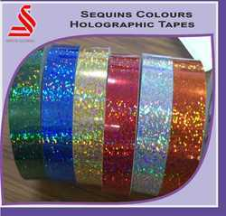 Sequins Colours Holographic Film Tape
