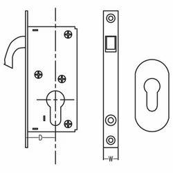 Hook Lock for Sliding Door