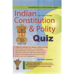 Indian Constitution And Polity Quiz Books