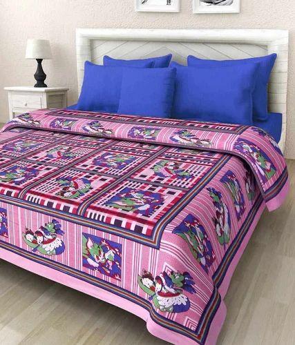 Beautiful Printed Double Bedsheet