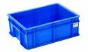 Rectangular Blue Plastic Crates