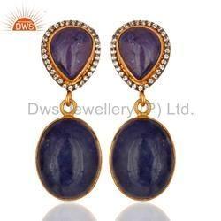 Tanzanite Gemstone Earrings
