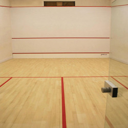 how to build a squash court