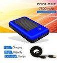 Solar Panel Portable Battery Charger 7800mAh Power Bank