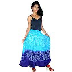Colorful Bandhani Skirts