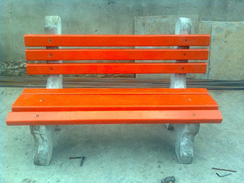 Precast Garden Bench without Rest