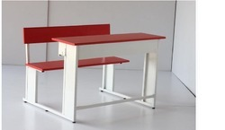 Class Room Desk with Bench - 2 Seater