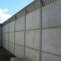 Concrete Boundary Wall Concrete Compound Wall