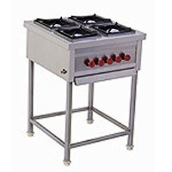 Kitchen Equipment kitchen equipment - four burner cooking range without oven