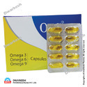 Soft Gel Capsules of Omega 3, 6, 9