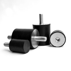 Rubber Cylindrical Anti-Vibration Mounts & Shock Mounts