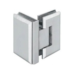 Glass To Glass 90 Degree Bevelled Shower Hinges