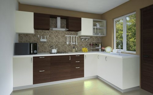 L Shaped Modern Kitchen Great Pictures