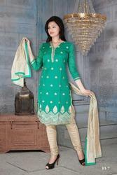 Fancy Churidar Kameez Suits
