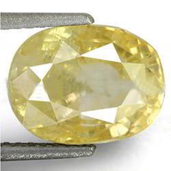 5.69 Carats Yellow Sapphire