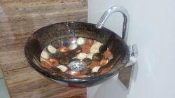 Prayosha Kundi Brown Mix Resin Washbasin