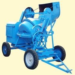 Full Bag Mixer with Hopper Electric Operated