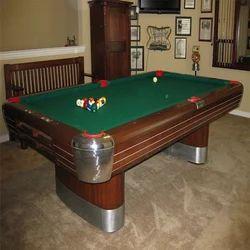 Used Green Billiard Table