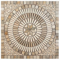 Yellow Stone Mosaic Tile