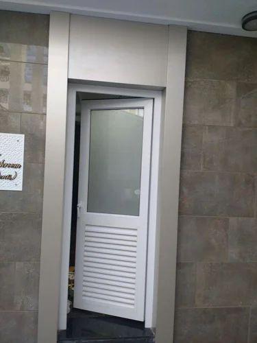 Louvers Door in UPVC