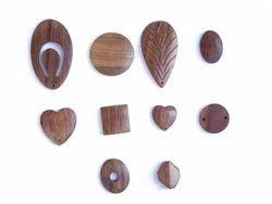 Wooden Button & Beads