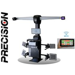 3D Wheel Aligner with Remote Automation (2 Camera)
