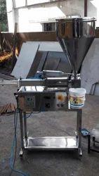 Fevicol & Distember Filling Machine ( Semi-Automatic)