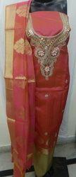 Aaditri Banarasi Silk Gota Patti Suit