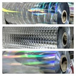 Holographic Metallised Polyester Film