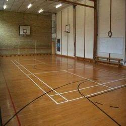 Air-Cush Volleyball Court